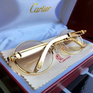 18k GOLD LIMITED EDITION CARTIER GLASSES!!!